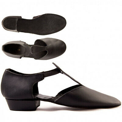 Ladies Tan Nude PU Dance Greek Sandal Teaching Jive Ceroc Salsa Shoe By Katz