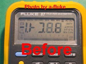 Fluke-87-Repair-Kit-for-Fading-LCD-Digital-Display