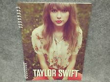 """Taylor Swift Official Spiral Notebook Sitting In Red Pants 8 1/2"""" x 11"""" 2012"""