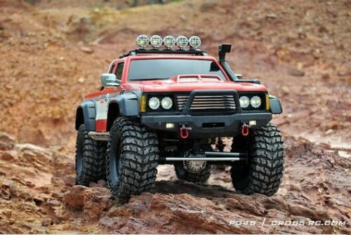 Cross PG4S Off Road 4x4 Pickup Truck rock crawler 1//10 RC Kit vitesse 2 m