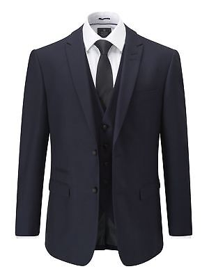 SKOPES MADRID NAVY BLUE SUIT TROUSER IN WAIST SIZE 30 TO 58