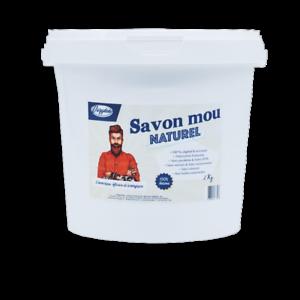 Savon-Noir-Mou-Naturel-a-l-039-huile-de-Lin-2Kg-Francais-et-Artisanal