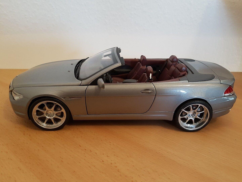 1 18 BMW 6 Cabrio Tuning Kyosho Räder nicht drehbar  | Zürich Online Shop