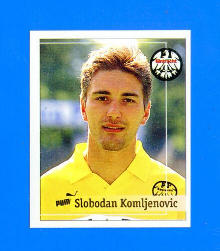 FUSSBALL BUNDESLIGA 1994-95 Figurina Sticker n 112 EINTRACHT F.-New KOMLJENO.