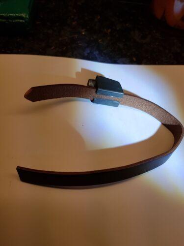 Ferret Finder Leather Collar