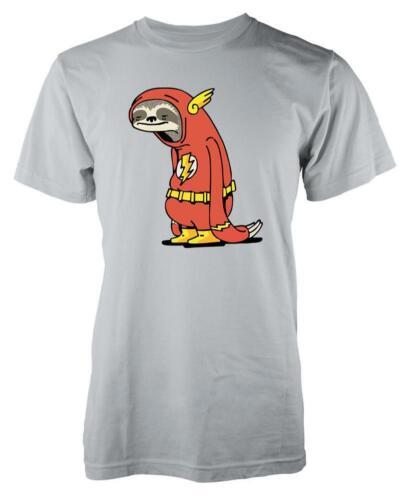 Veloce Flash Supereroe lento BRADIPO Mash-up Kids T Shirt