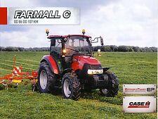CASE Farmall C 10 / 2012 catalogue brochure Traktor tracteur tractor