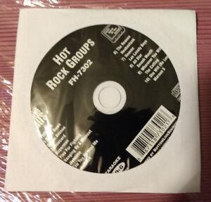 Utile Karaoké: Hot Rock Groupes Karaoké Fh-7302 New In Original Papier Manche Cg & G-afficher Le Titre D'origine Remise GéNéRale Sur La Vente 50-70%