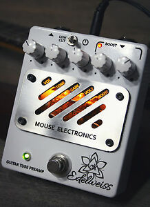 Mouse-Electronics-Edelweiss-Handmade-Tube-Guitar-Preamp-with-booster