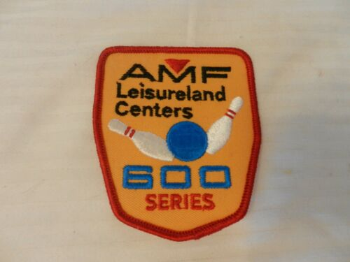 AMF Leisureland Bowling Centers 600 Series Patch from the 90s Red Border