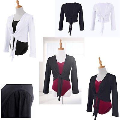 Colto Scaldacuore Coprispalle Donna Danza Girl Ballet Bolero Short Jacket Cuor06
