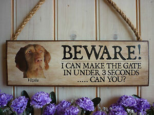 MADE-TO-ORDER-LONG-HAIRED-HUNGARIAN-VIZSLA-SIGN-HOUSE-PLAQUE-DOG-SIGN-FUNNY-SIGN