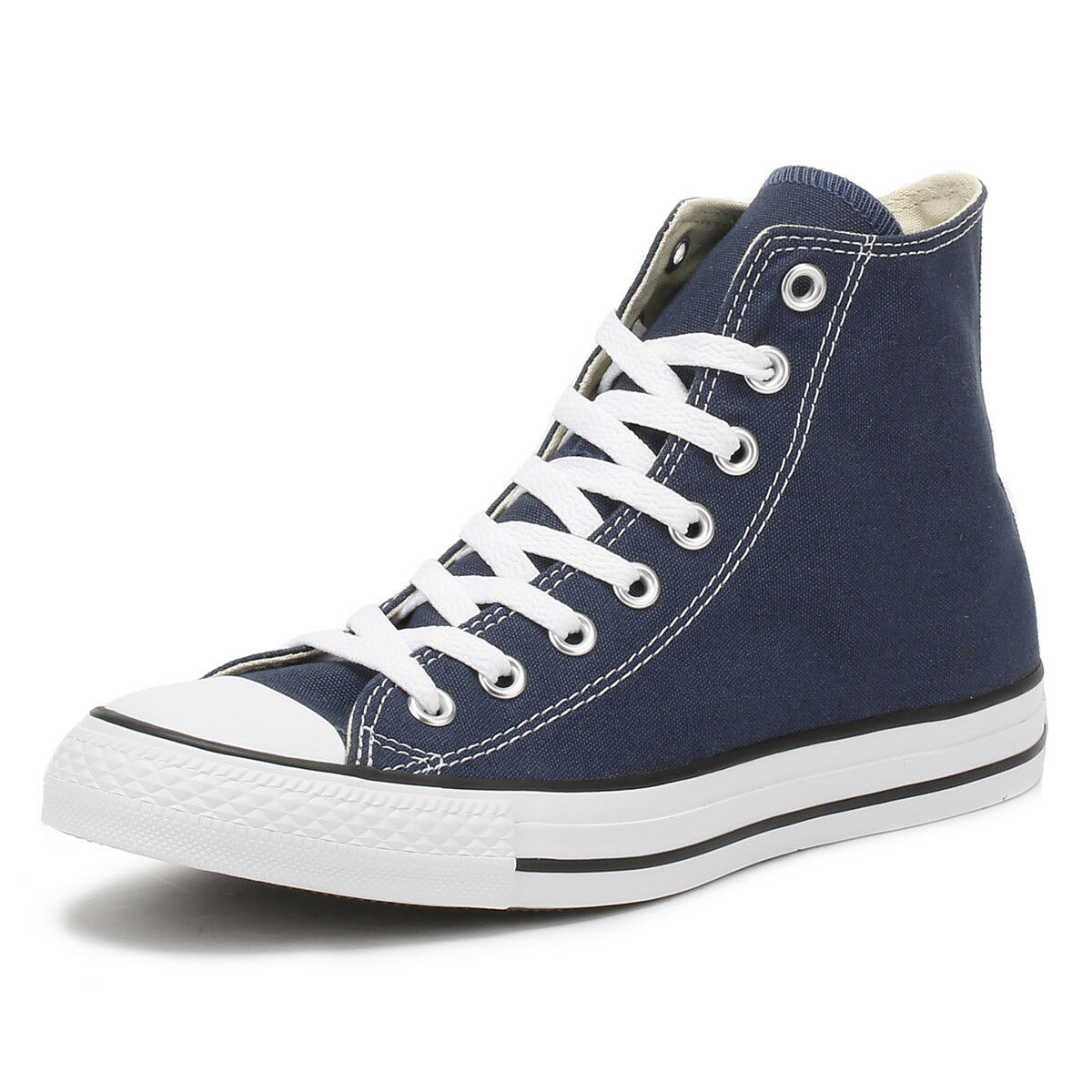 Converse Hombre Mujer Trainers Navy Azul All Star Sneakers Hi Tops Unisex Canvas Sneakers Star 86754b