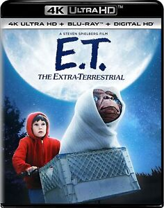 E.T. The Extra-Terrestrial 4K Ultra HD and Blu-ray NEW