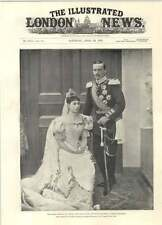1894 Grand Duke And Grand Duchess Of Hesse Darmstadt