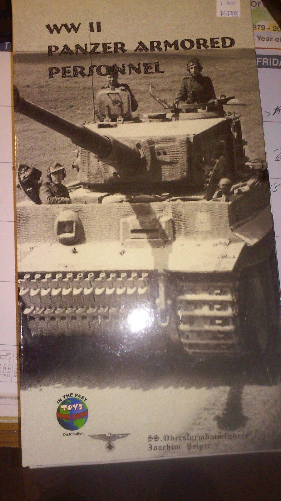 IN THE PAST TOYS 1/6 WWII  GERMAN PANZER ARMOROT