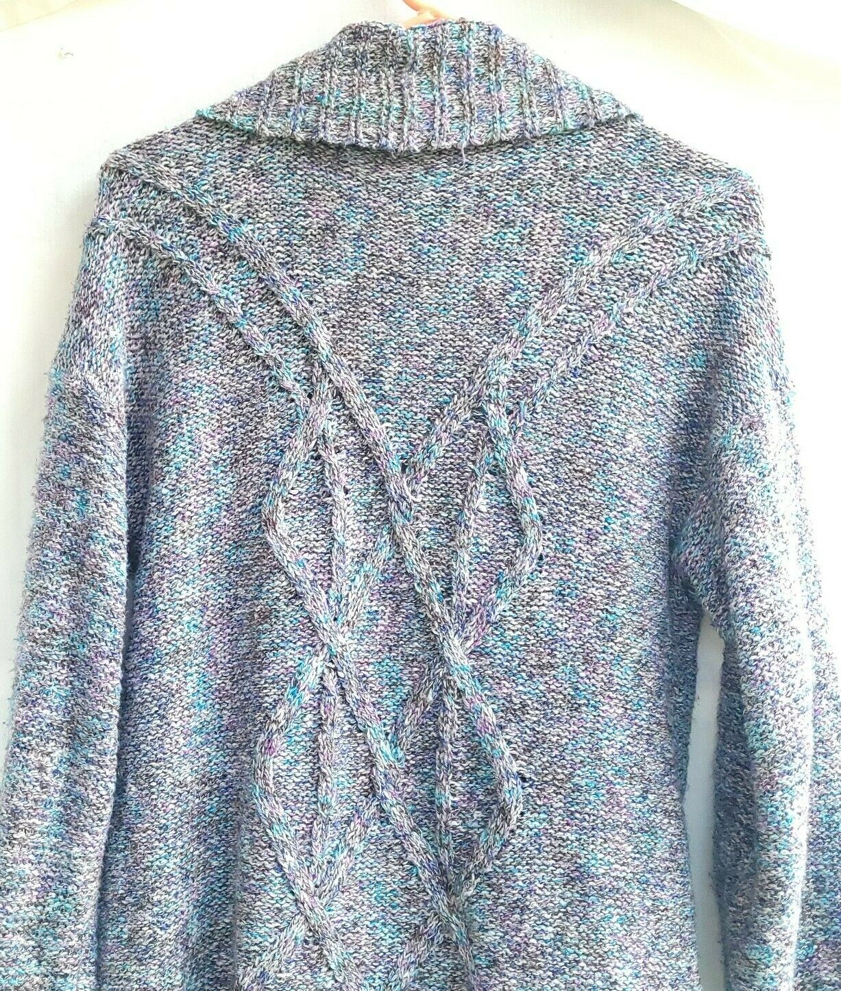 Chico's Chunky Knit Textured Sweater Open Front S… - image 7