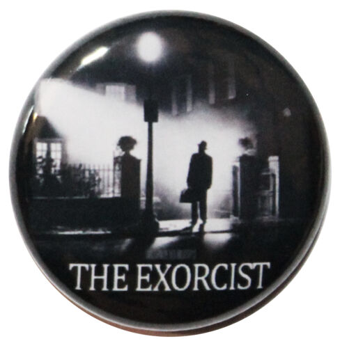 """The Exorcist 1973 Button Badge Pin 1/"""" 25mm High Quality Custom Badge"""