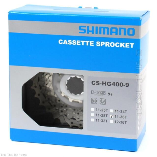 Shimano CS-HG41 7-Speed 11-28T HyperGlide HG Road//MTB//Hybrid Bicycle Cassette