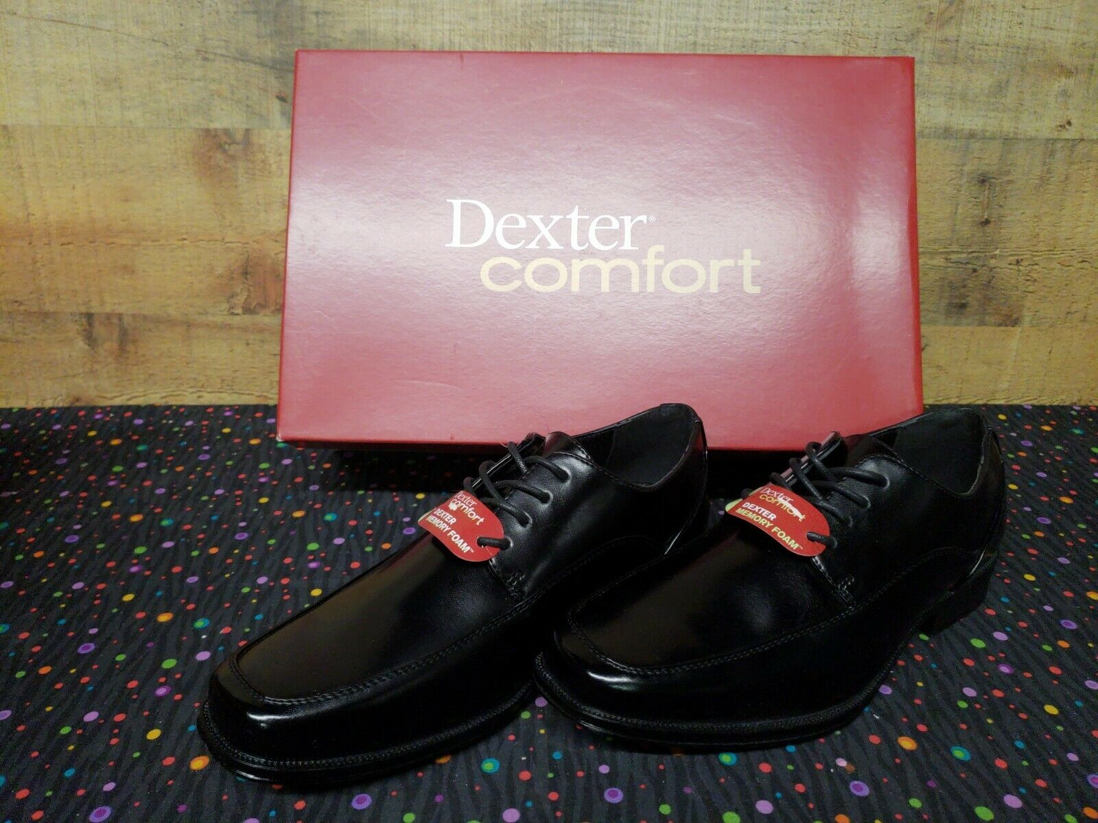 Dexter Comfort 164611 CROSBY OX Oxford Dress Mens shoes Size 10W New Box