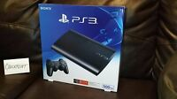 Sony Playstation 3 Super Slim 500gb Charcoal Black System Console Ps3 Sealed