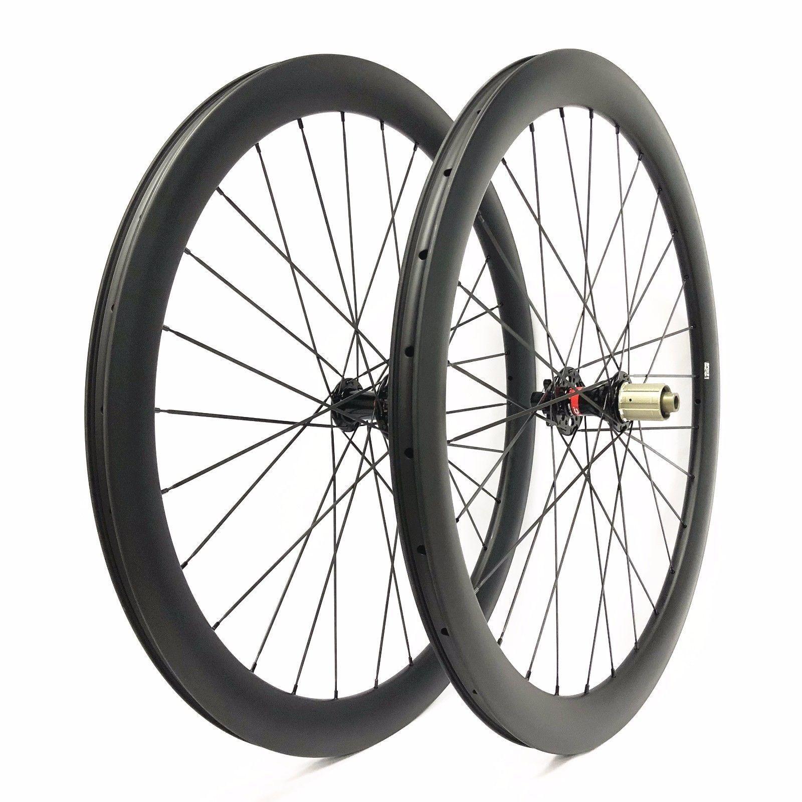 29 inch Carbon Cyclocross Wheelset 47mm Depth 28mm width disc brake Hub Wheels