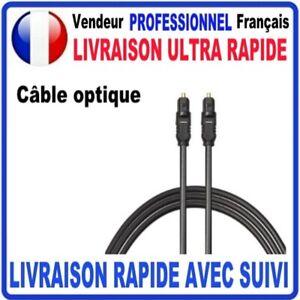 CABLE-OPTIQUE-AUDIO-NUMERIQUE-DIGITAL-TOSLINK-FIBRE-OPTIQUE-MALE-MALE