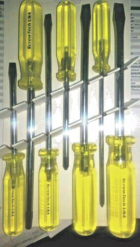 Alfa Tools SCD188 Screwtech 7 PC USA Professional Screwdriver Set