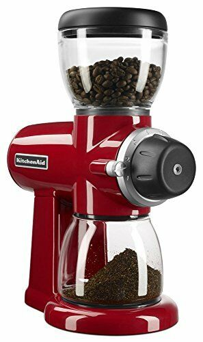 KitchenAid KCG0702ER Burr Moulin à Café, Empire Rouge