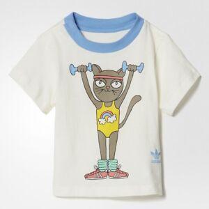 9611223441a Image is loading 30-Adidas-Originals-Toddlers-Mini-Rodini-Tee