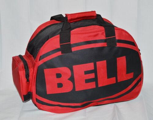 Marca Bell Vermelho Preto com zíper Bolsa Para Capacete Moto MX-9-9 Qualifier Vortex Estrela Novo