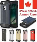 iPhone 5 5S & iPhone SE - Dual Layer Hybrid Shockproof Hard Armor Case