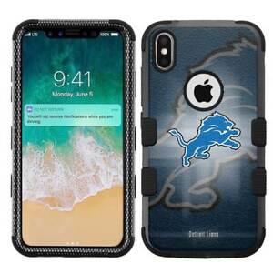 for-Apple-iPhone-X-Ten-Armor-Impact-Hybrid-Cover-Case-Detroit-Lions-BG