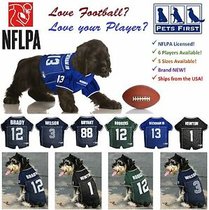 edc687255 NFLPA Jersey for Dogs & Cats. 6 NFL Players available in 5 sizes ...