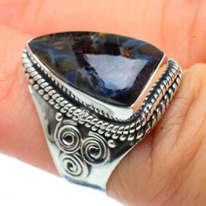 Pietersite-925-Sterling-Silver-Ring-Size-6-Ana-Co-Jewelry-R30548F