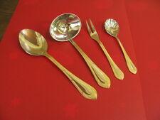 Solingen ROKOKO Gold Besteck Bicolor Edelstahl 4 Servierteile 2
