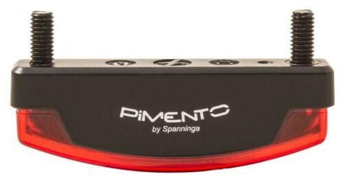Feu arrière SPANNINGA Pimento XDS avec 50 mm Support de fixation