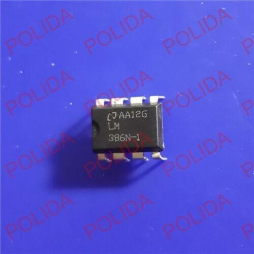 20PCS IC LM386N-1 NSC DIP-8