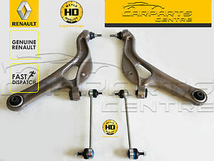 Details about FOR RENAULT CLIO 197 200 RS SPORT FRONT LOWER CONTROL ARMS  BALL JOINTS HD LINKS
