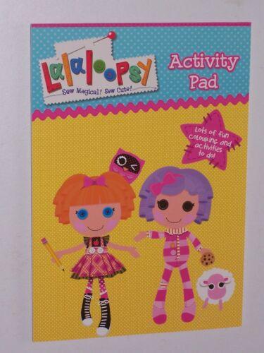 ALLIGATOR Books Lalaloopsy Activity Pad
