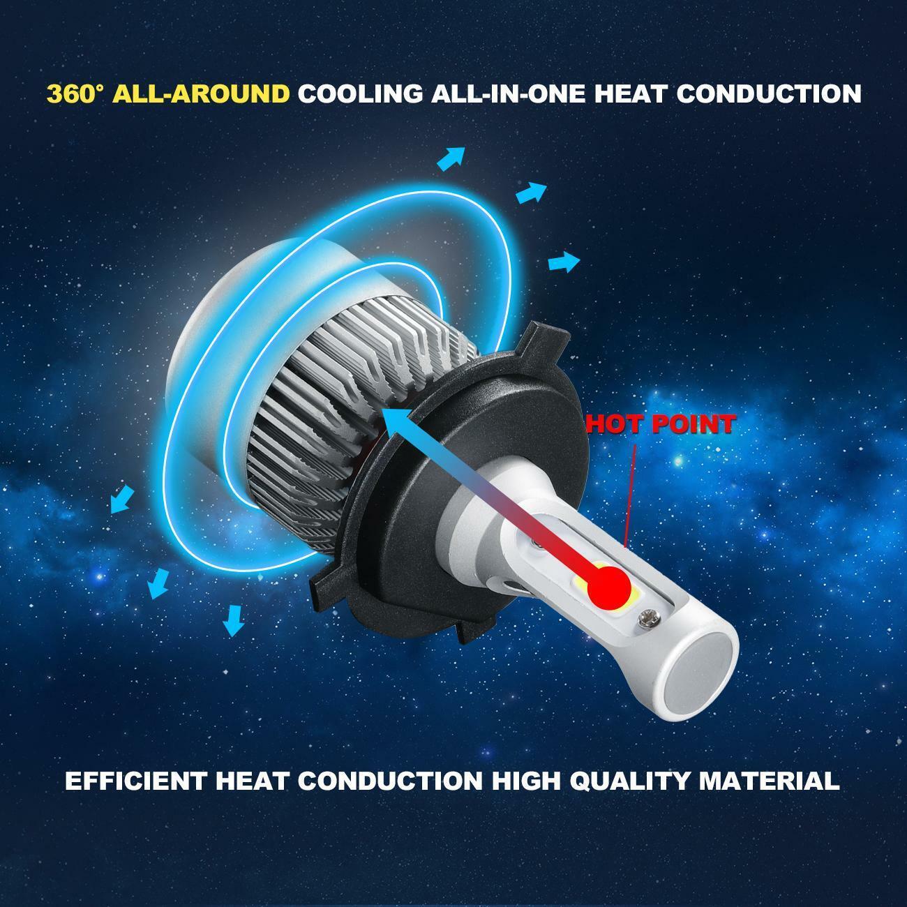 D40 For Nissan Navara 2005-14 Low High Fog Xenon Headlight Bulbs H4 H4 H11 Set
