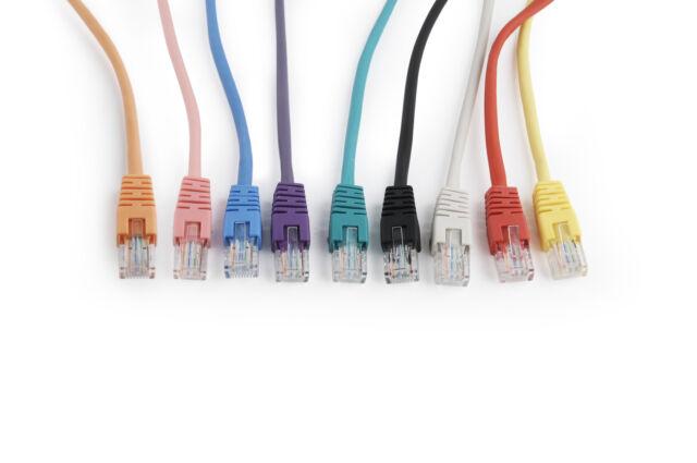 Longueur du Réseau / Patch Ethernet RJ45 Cat5e Cat5 UTP Câble de Données Coloré