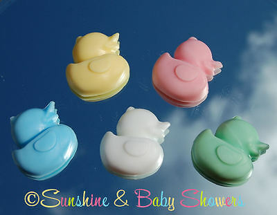 5 BABY DUCK SOAPS Gorgeous Baby Shower Favours Game Prizes Gift Boy Girl Neutral