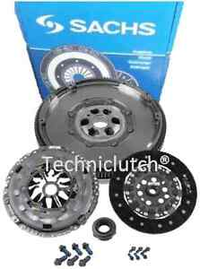 Sachs-DMF-Doble-Masa-Rigida-Volante-Kit-De-Embrague-Para-VW-Volkswagen-Transporter-T5-1-9TDI