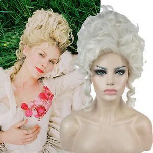 Caricamento dell immagine in corso Adulto-Maria-Antonietta-Parrucca -Accessorio-Costume-Stile-Vittoriano- d3155f4102c