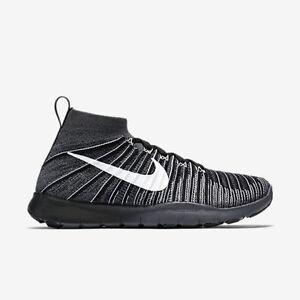 d311b17b781 NEW Nike Men s Free Train Force Flyknit Size 11.5 Black White Dk ...