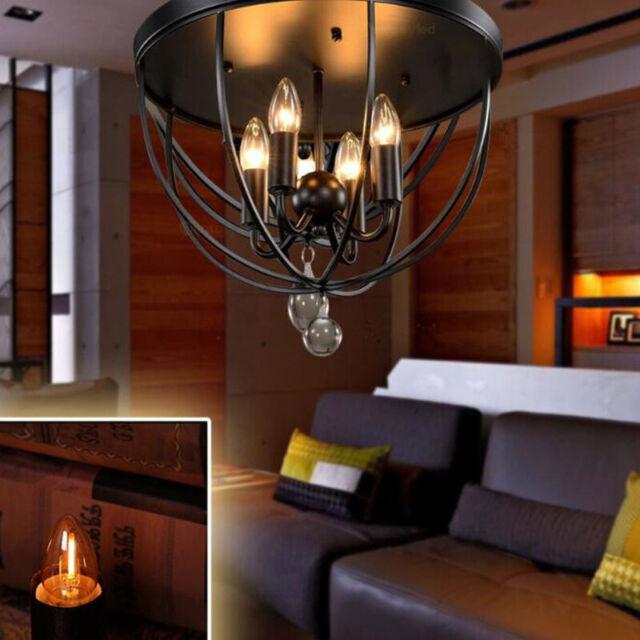 110V Candle Lamp LED Fridge Range Hood Light Filament Bulb E12 0.5W L otX xJ