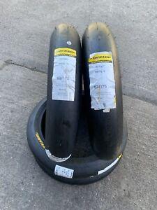Dunlop 120/75/17 Moto 2 3 Front Slick Race Track Tyre D213 Kr106