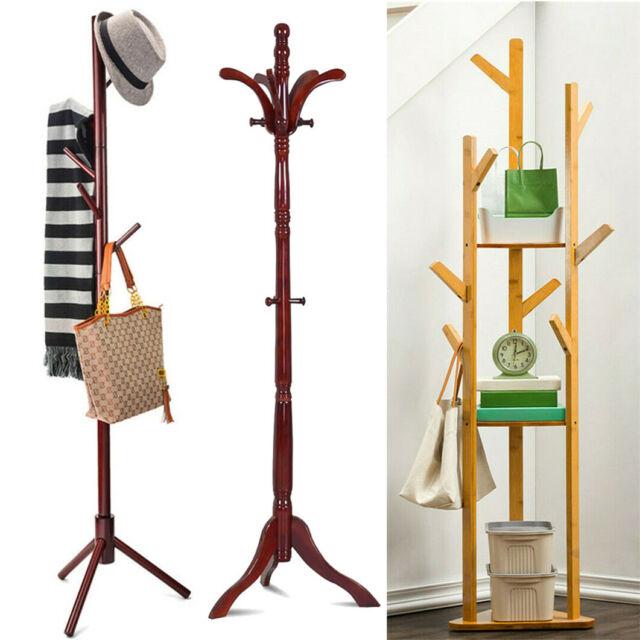 4//5//6FT Garment Hanger Hanging Rack Stand Coat Clothes Indoor Outdoor Rolling