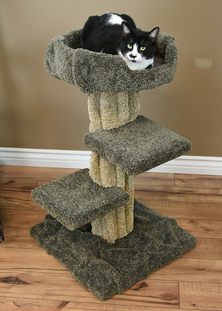 PREMIER CAT PLAY TREE , 33  TALL 2 COLORS - FREE SHIPPING IN THE UNITED STATES